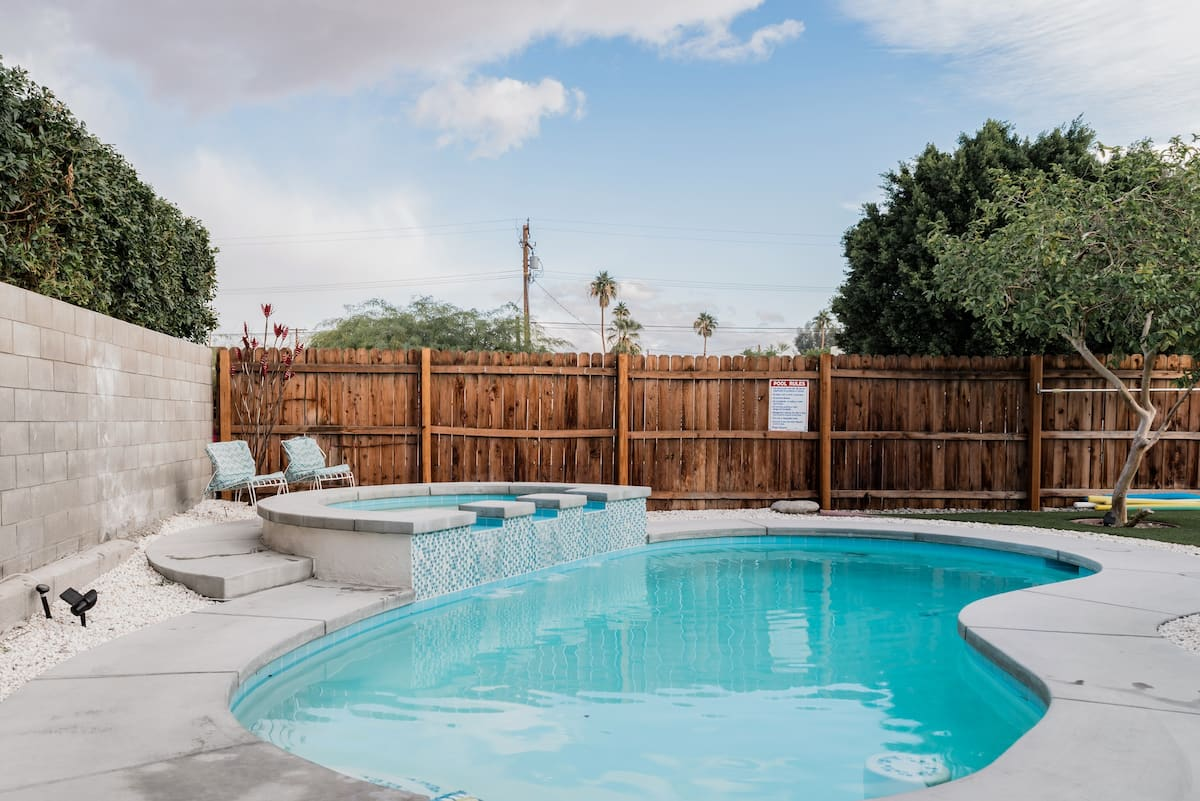 Mid-Century Modern Charmer  with Great Pool.
