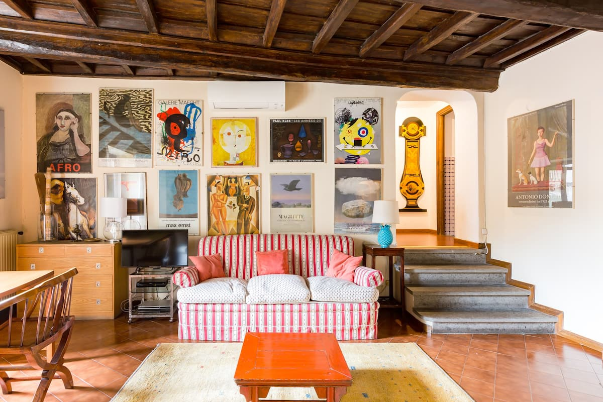 Classic, Chic, and Cozy Apartment in Campo de Fiori - Cappellari Luxury