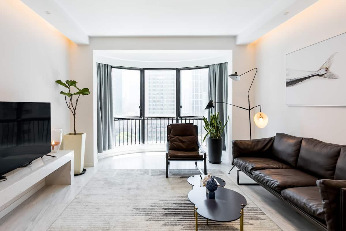 世纪大道五分钟/北欧设计/高层景观公寓/参展/家庭出游.
