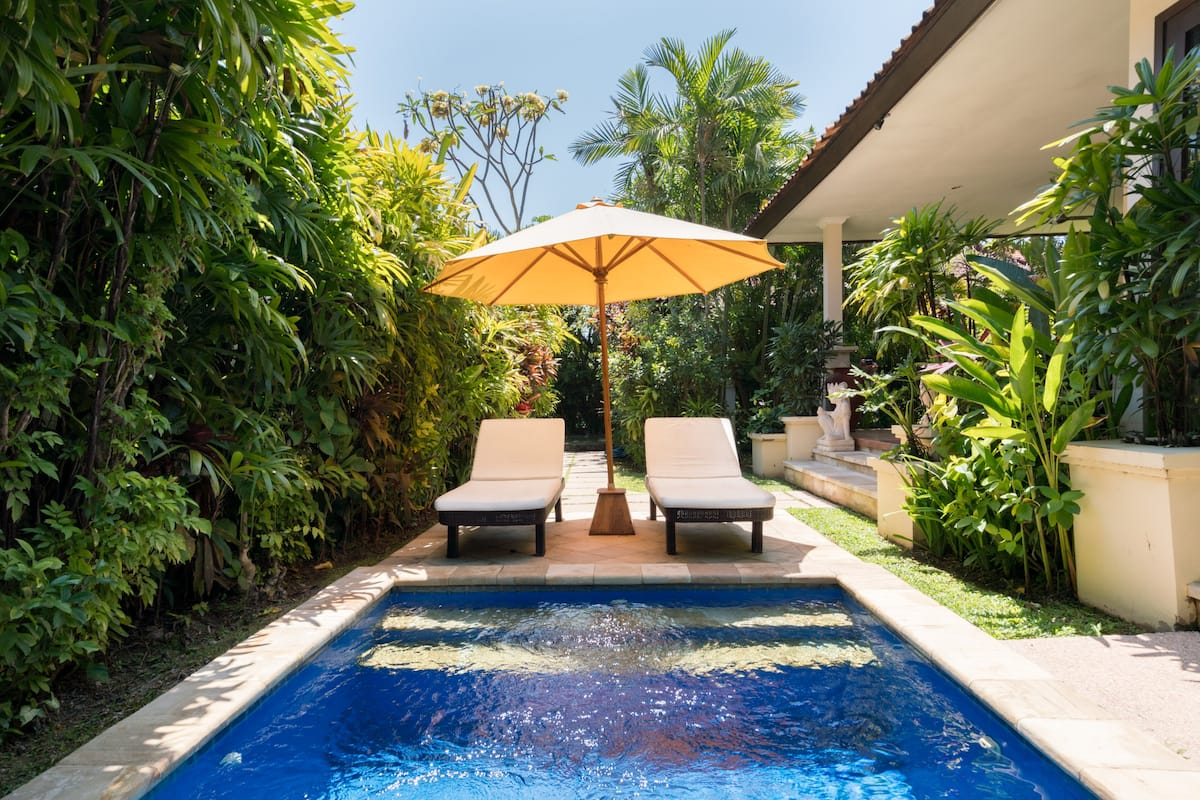 Greet the Day from the Plunge Pool at Zen Villa Bali
