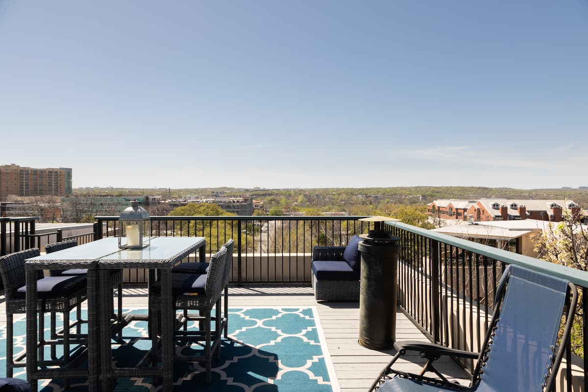 Explore Downtown Austin from a Designer Condo