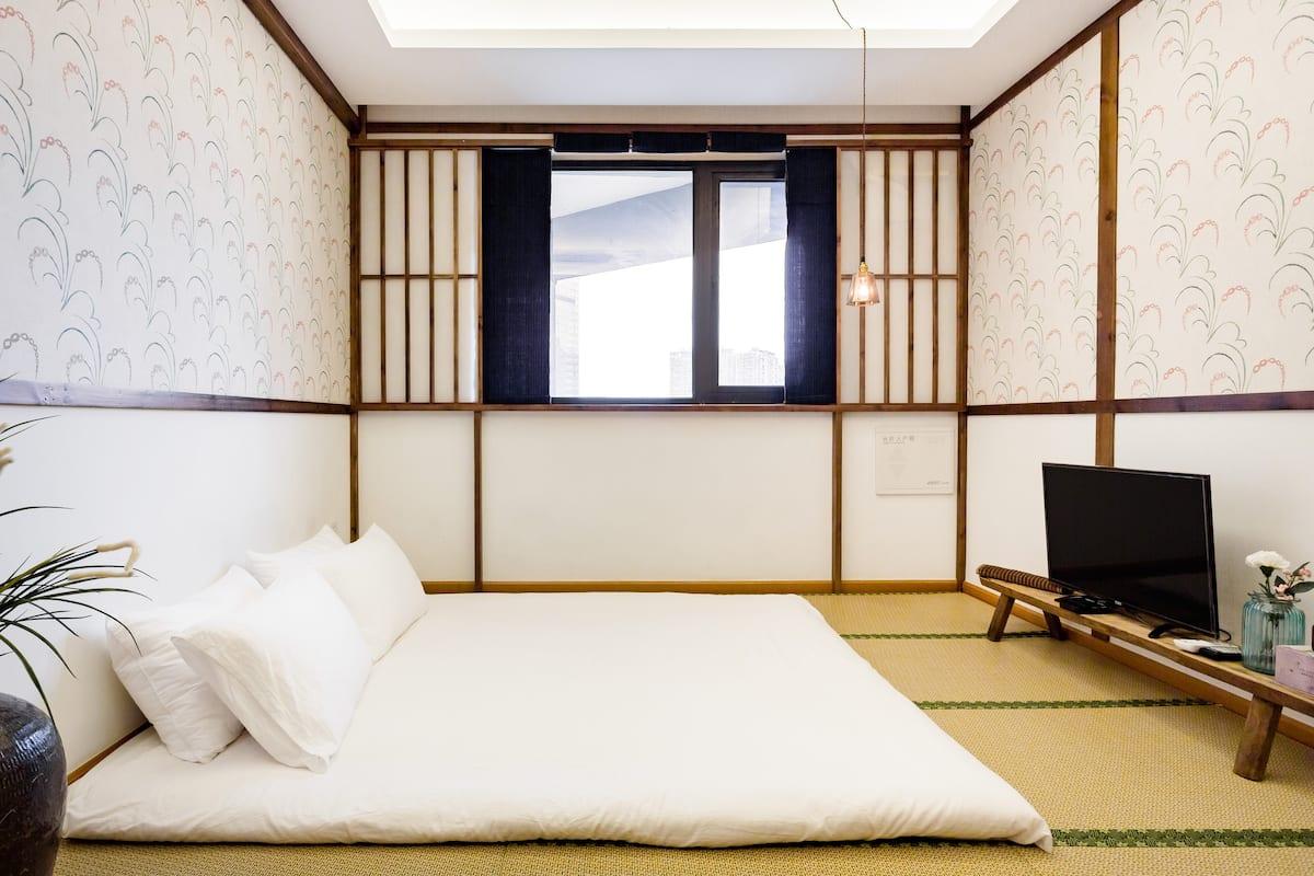 太古里地铁旁十号房,感受日式住宅的美,长租优惠每客消毒
