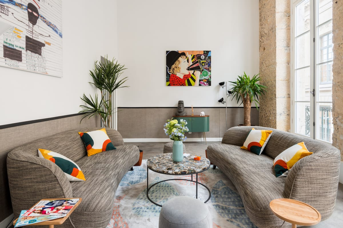 Hip, Art-Filled Apartment in the Heart of Paris