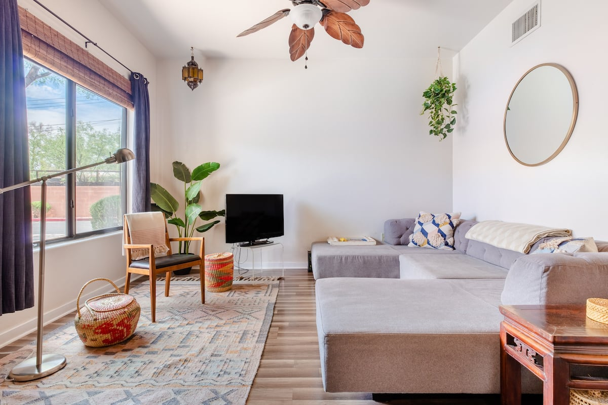 Mid-Century Southwest Style Condo in Central Tucson