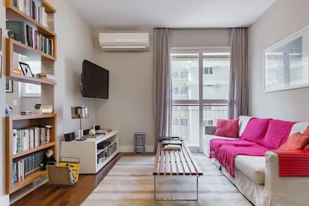 Puro charme carioca em apartamento aconchegante de Botafogo
