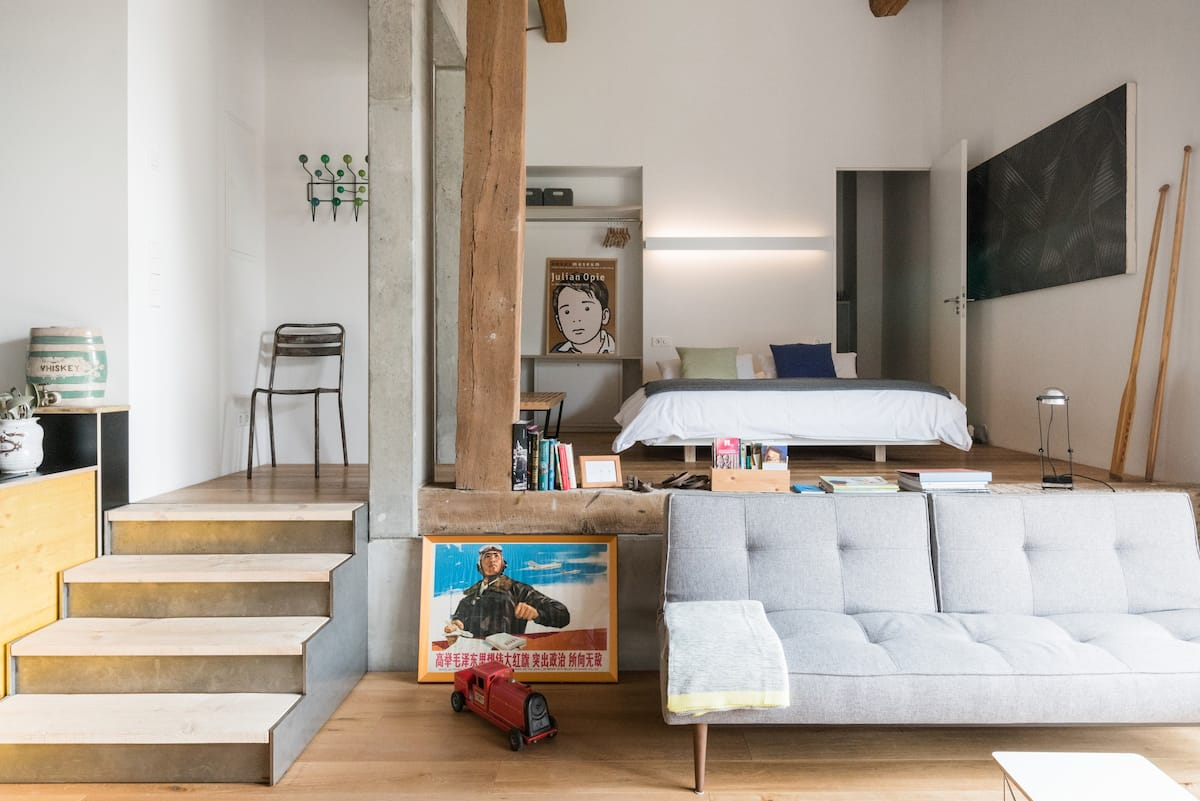 Loft in Converted Historic Barn near Freiburg