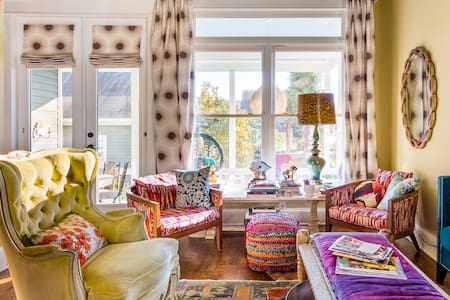 Explore Nashville from a Quirky, Colorful Home