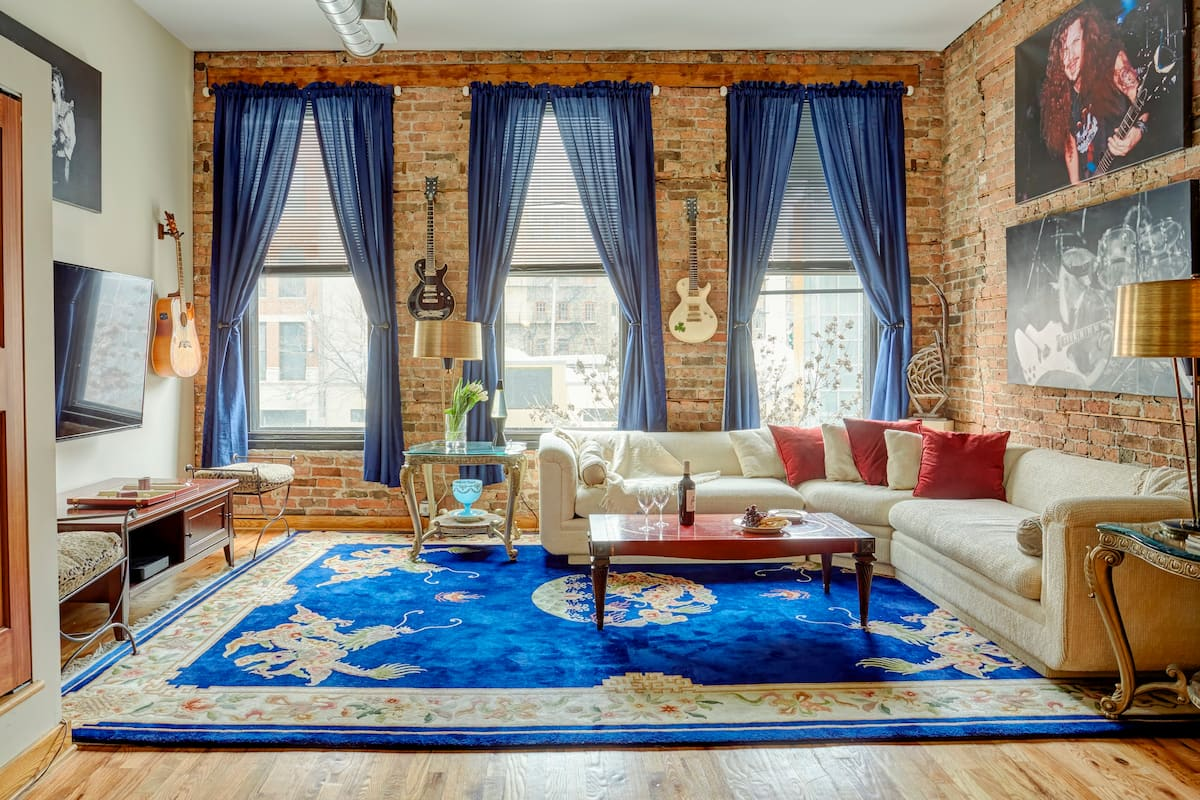 River North's Rock N Roll Airbnb