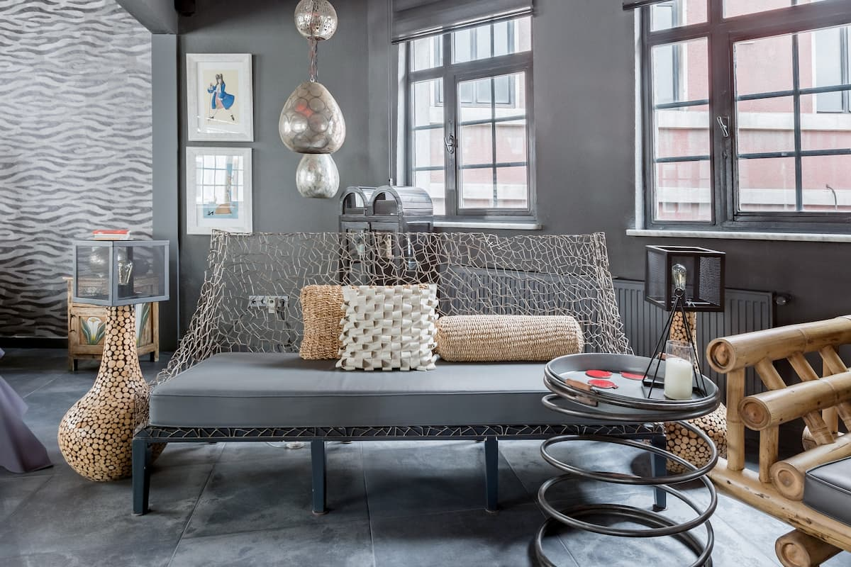 Unlock Creativity in This Contemporary Art-Inspired Loft