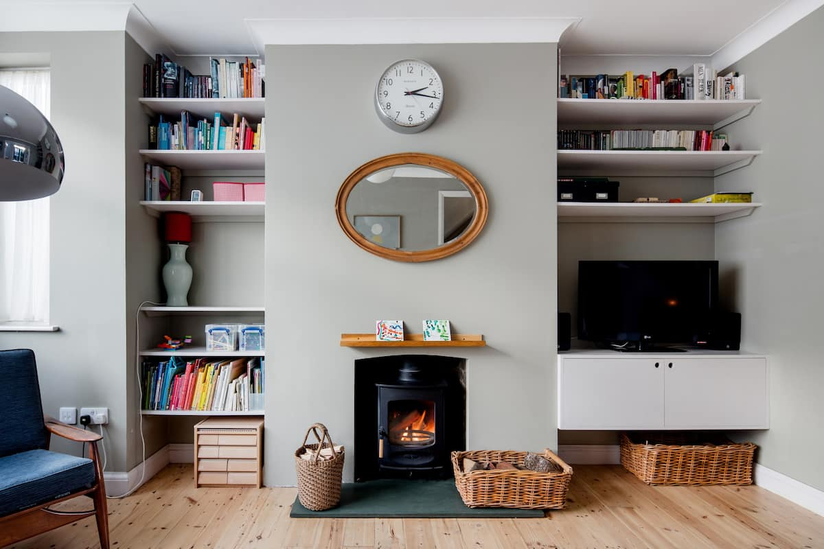 Stylish Family Home with a Woodburner and Trampoline