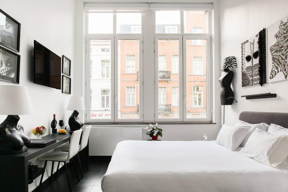 Studio de styliste moderne et arty à Bruxelles