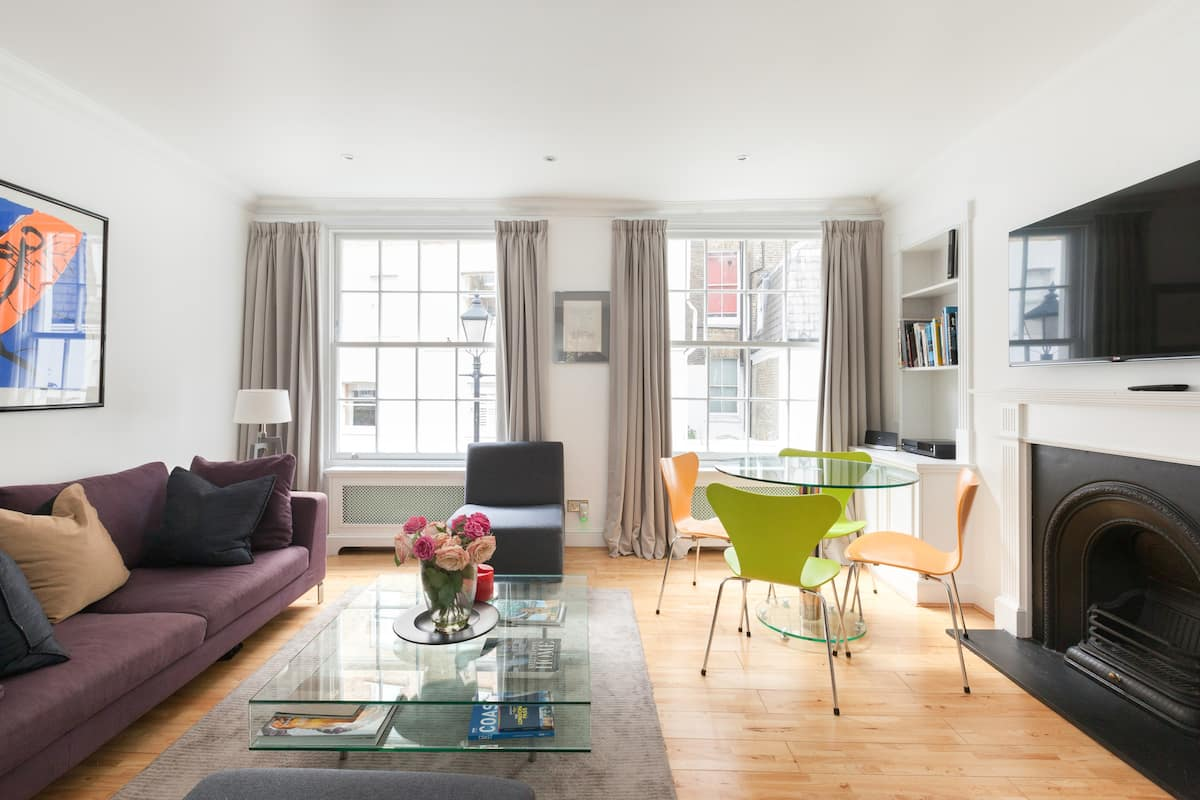 Secluded Townhouse in Central Knightsbridge