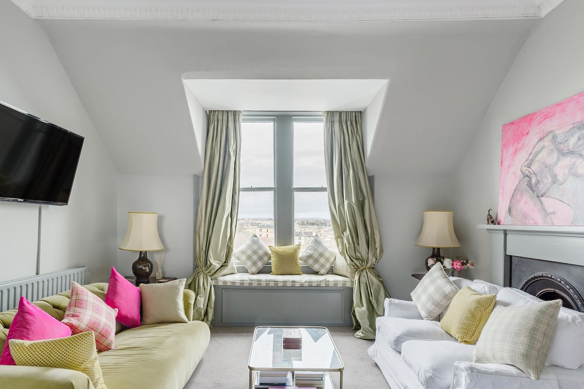 French Chic Period Classic Apartment with Rooftop Views