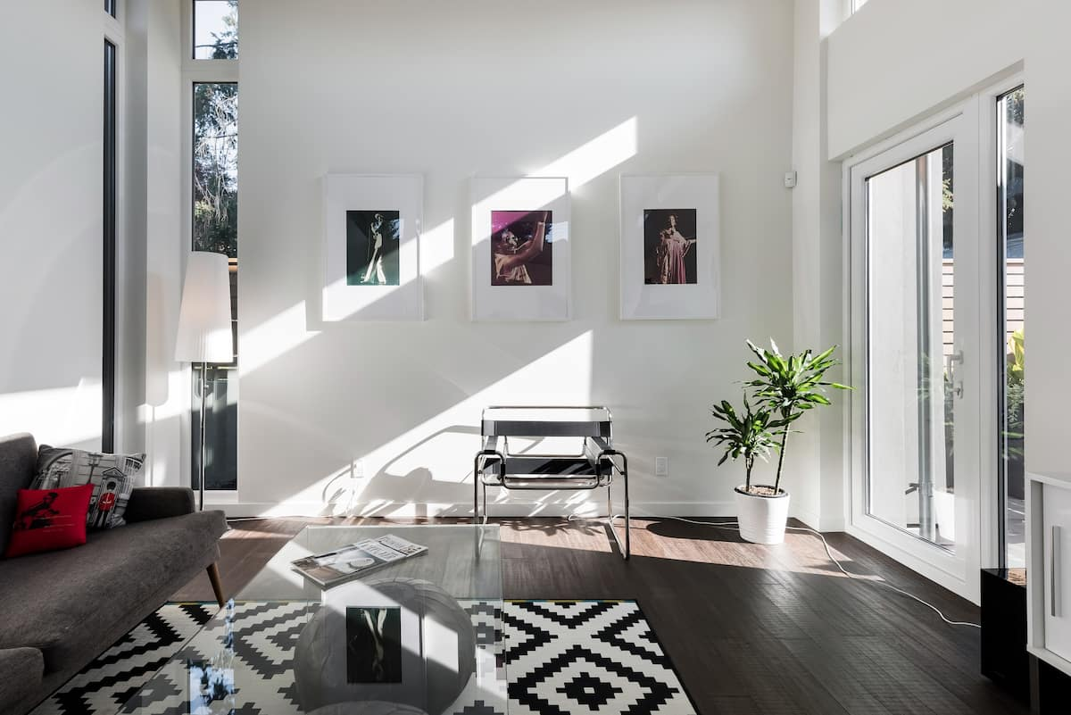 Light-Filled Guesthouse in Central Lonsdale