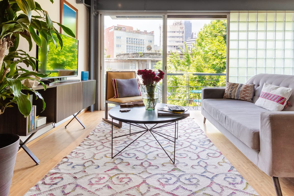 Stylized Luxury Apartment in Hip Roma Norte