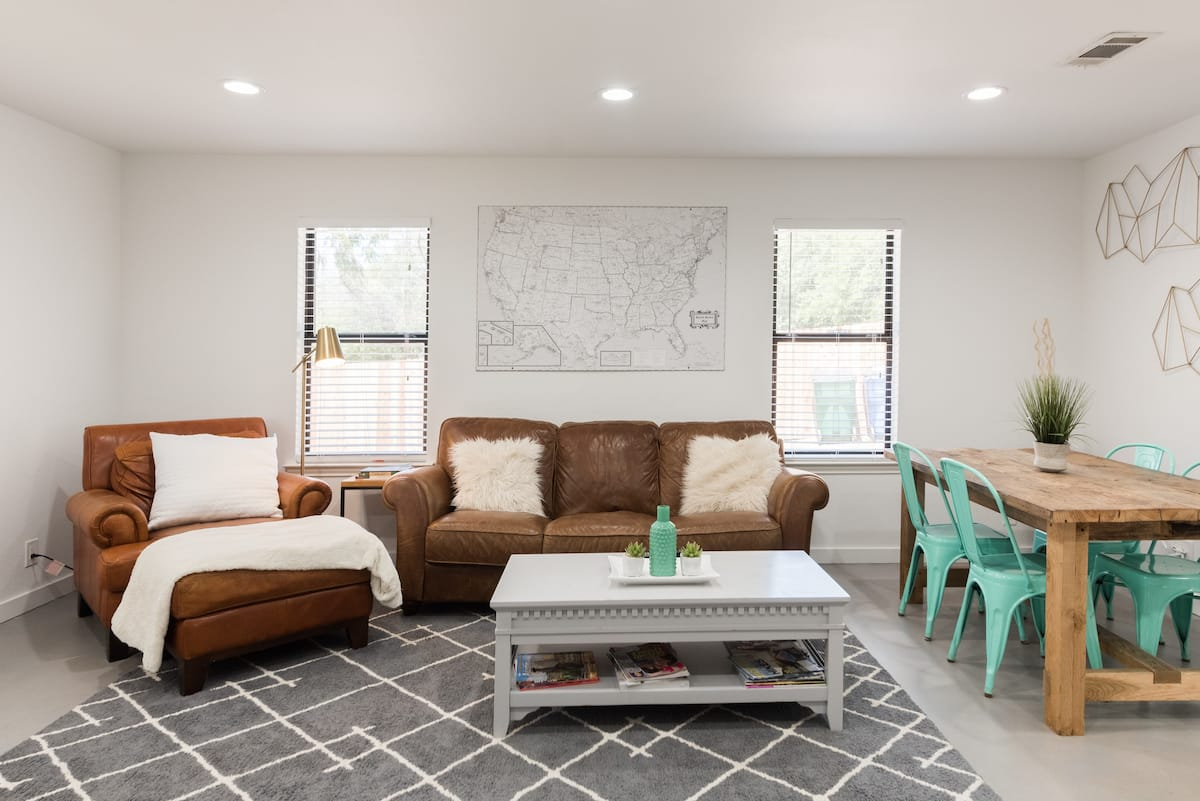 Industrial Style Remodeled Home Near Jones Brothers Park