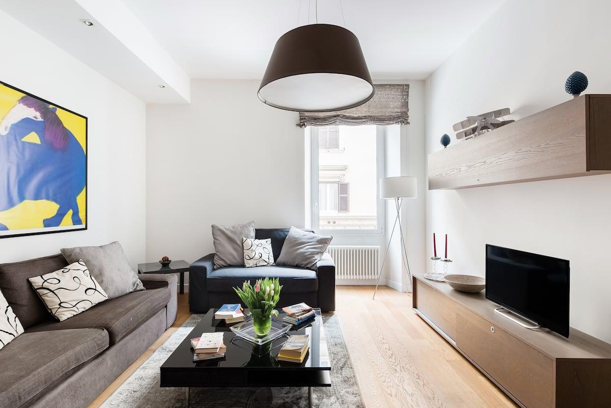 Raffinato appartamento nelle tranquille vicinanze di Villa Borghese