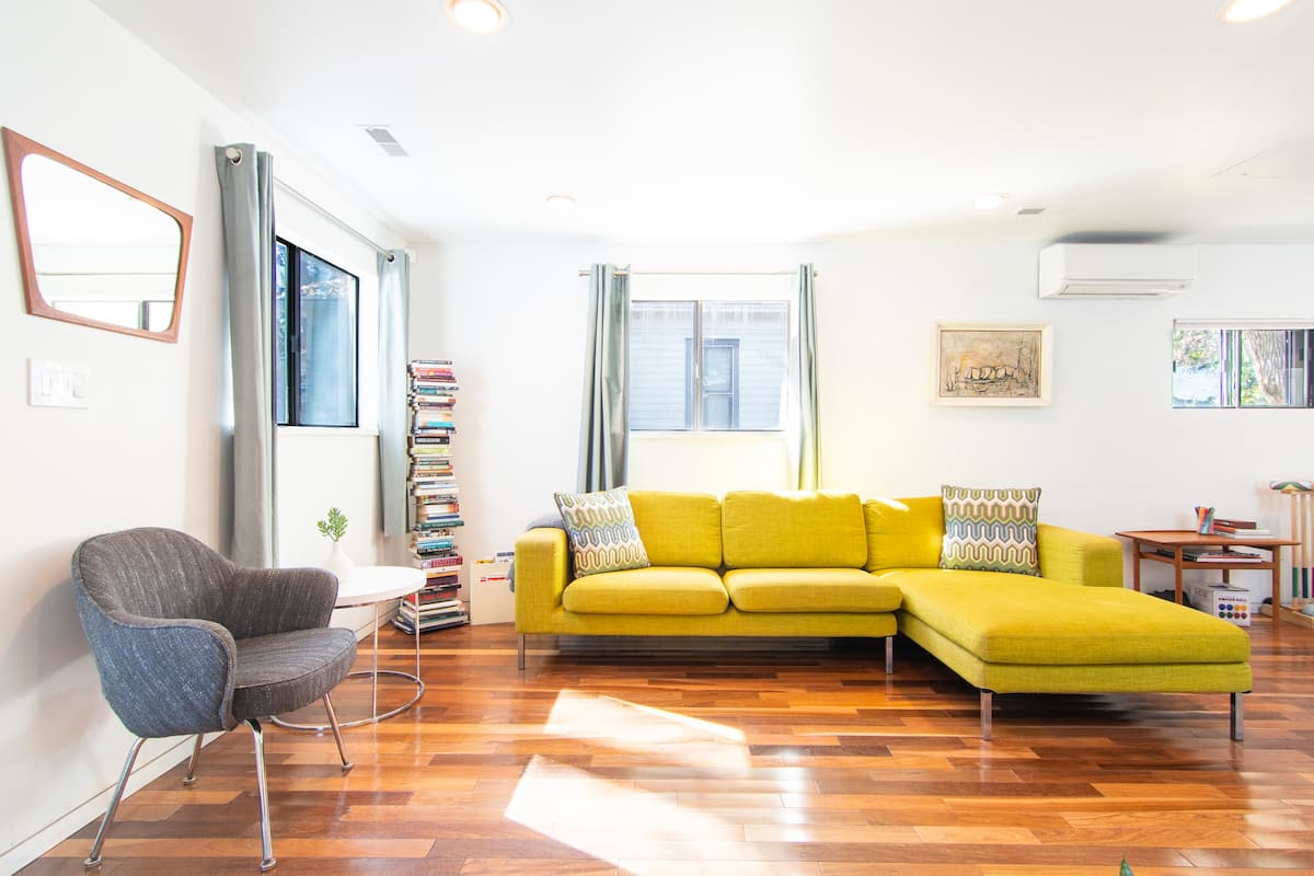 Explore Downtown Boulder at a Stylish, Modern Mapleton Home