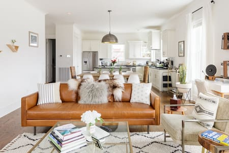 Magical, Country-Chic Home with a Rooftop Terrace