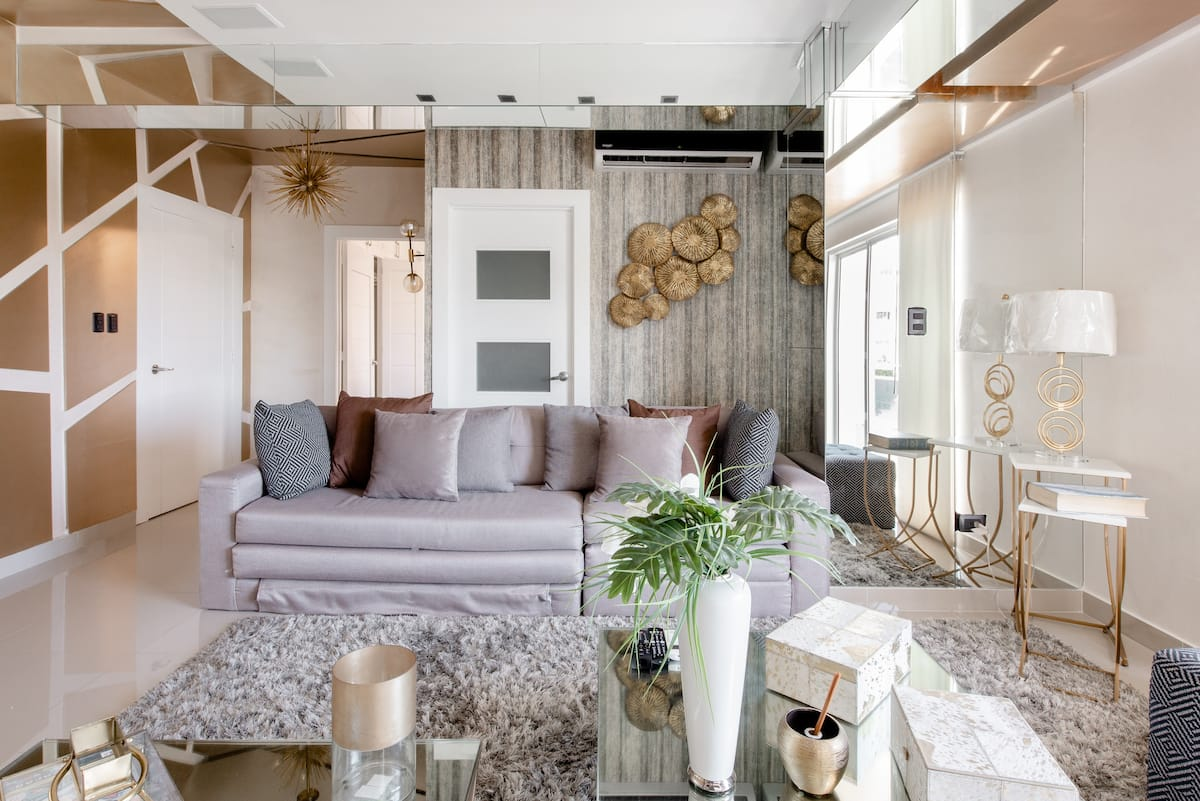 Sunny and Chic Apartment With Leafy Views From a Balcony