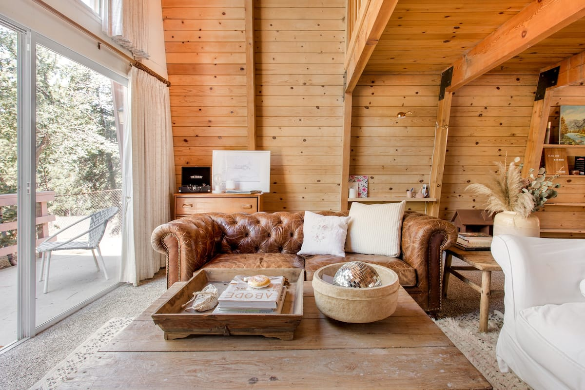 Recharge at Krt Cabin,  a Big Bear Hideaway