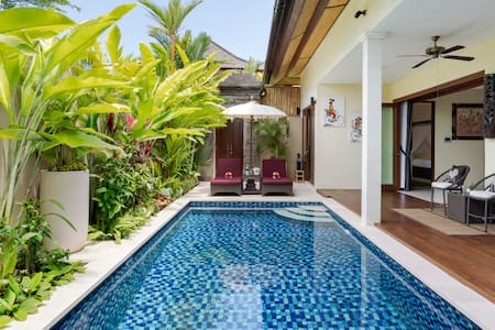Modern Balinese Villa with a Pool in Central Sanur