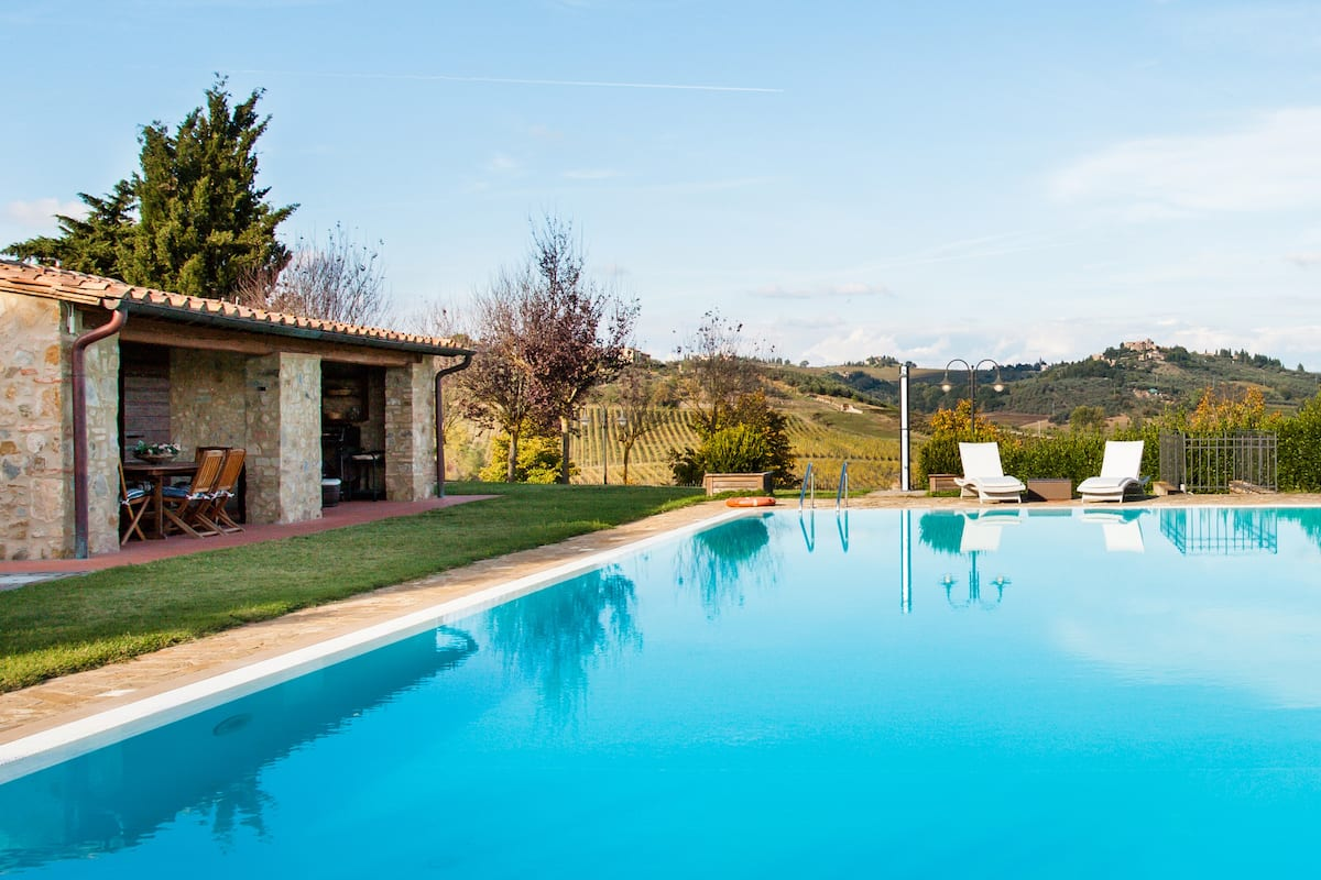 Stone house with private pool Codilungo in Chianti