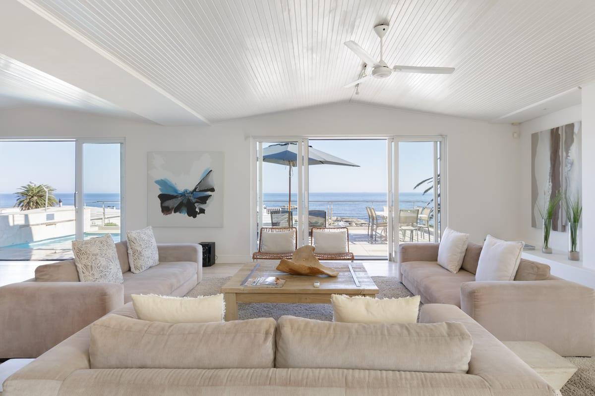 Breathtaking Ocean Views from a Luxury Beach Villa