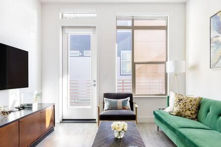 Luxury Corner Apartment in New Menlo Park Building