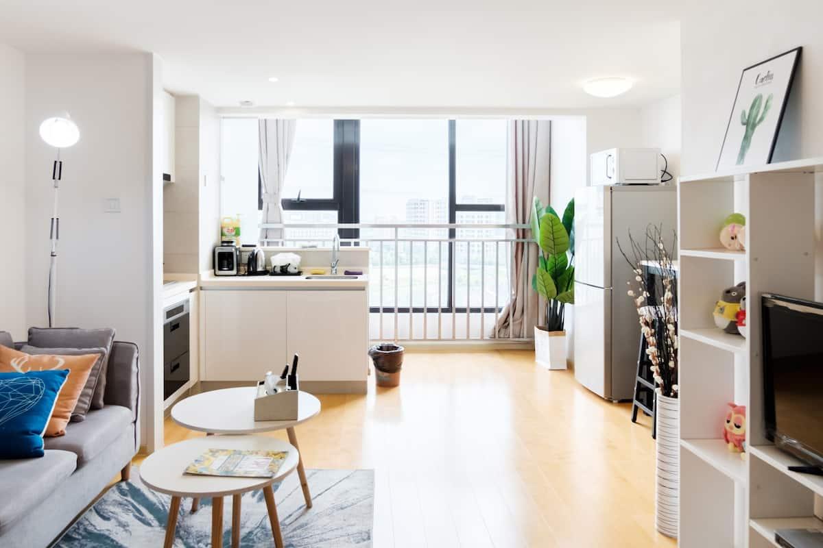 恬静~双层复式整套公寓、临近迪士尼的精装整套复式公寓欢迎您的到来