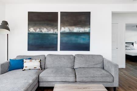 Modern, Minimal Suite in South Oceanside, Suite One
