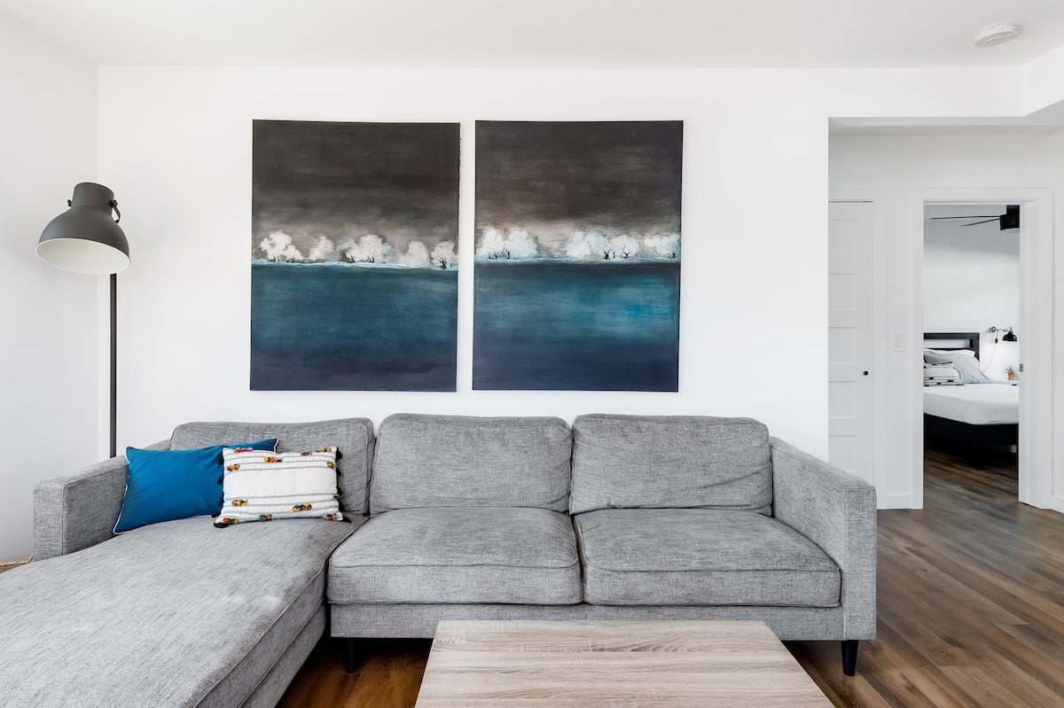Modern, Minimal Suite in South Oceanside, Suite One