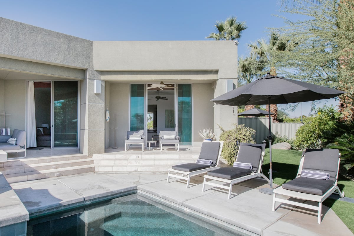 Explore Palm Springs from a Resplendent Villa with a Pool