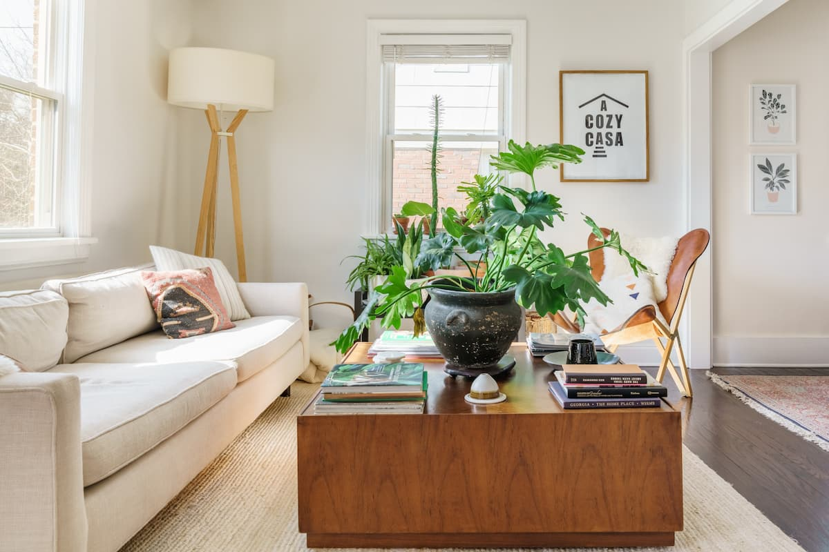 A Cozy Casa in East Nashville - A Plant Lovers Dream
