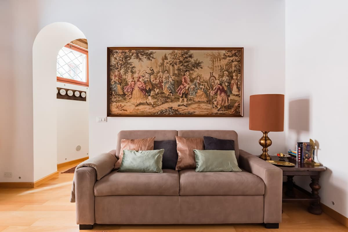 Leone Marciano Apartment in 17th-Century Palace
