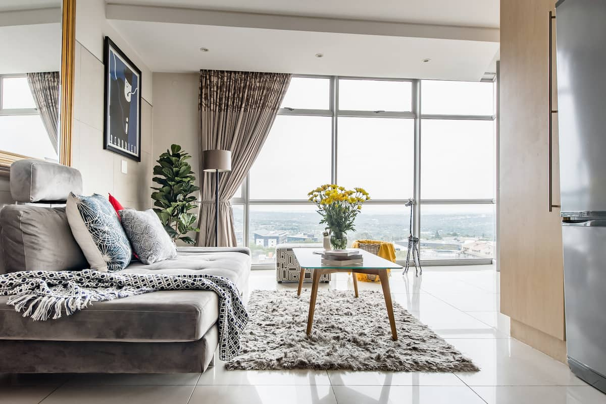 Penthouse-Style Apartment in Sandton with Great Views