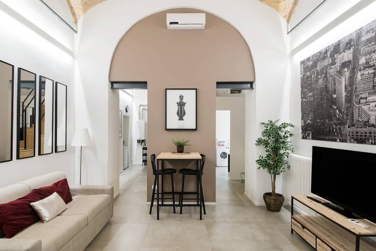 Unique split level Loft in Trastevere