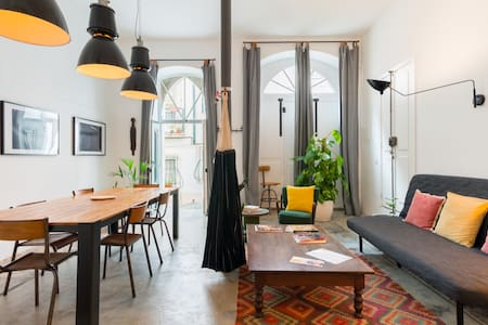 Relish the Charm of Lisbon from Stunning Loft Abode