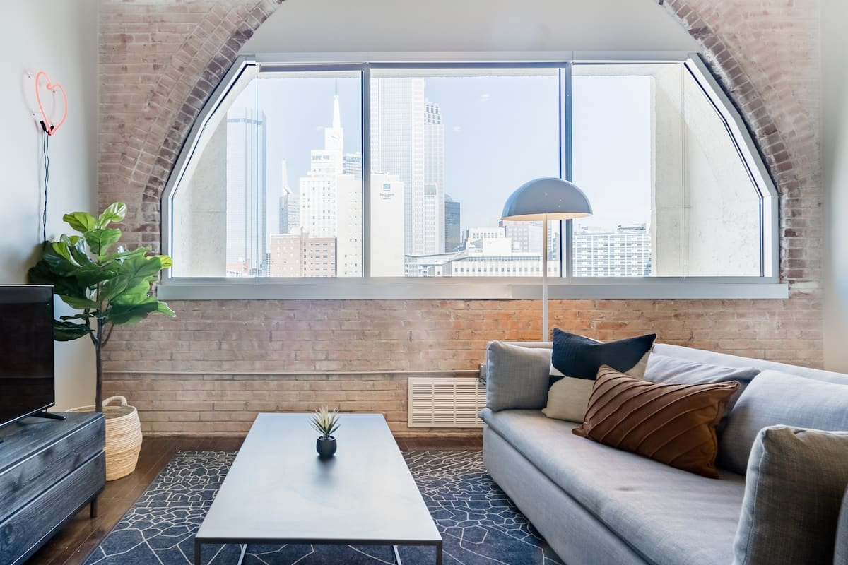Hip Loft in the Heart of Downtown Dallas