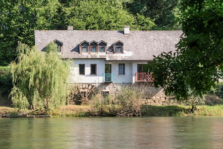 Savor the Seclusion at a 19th-Century Riverside Mill