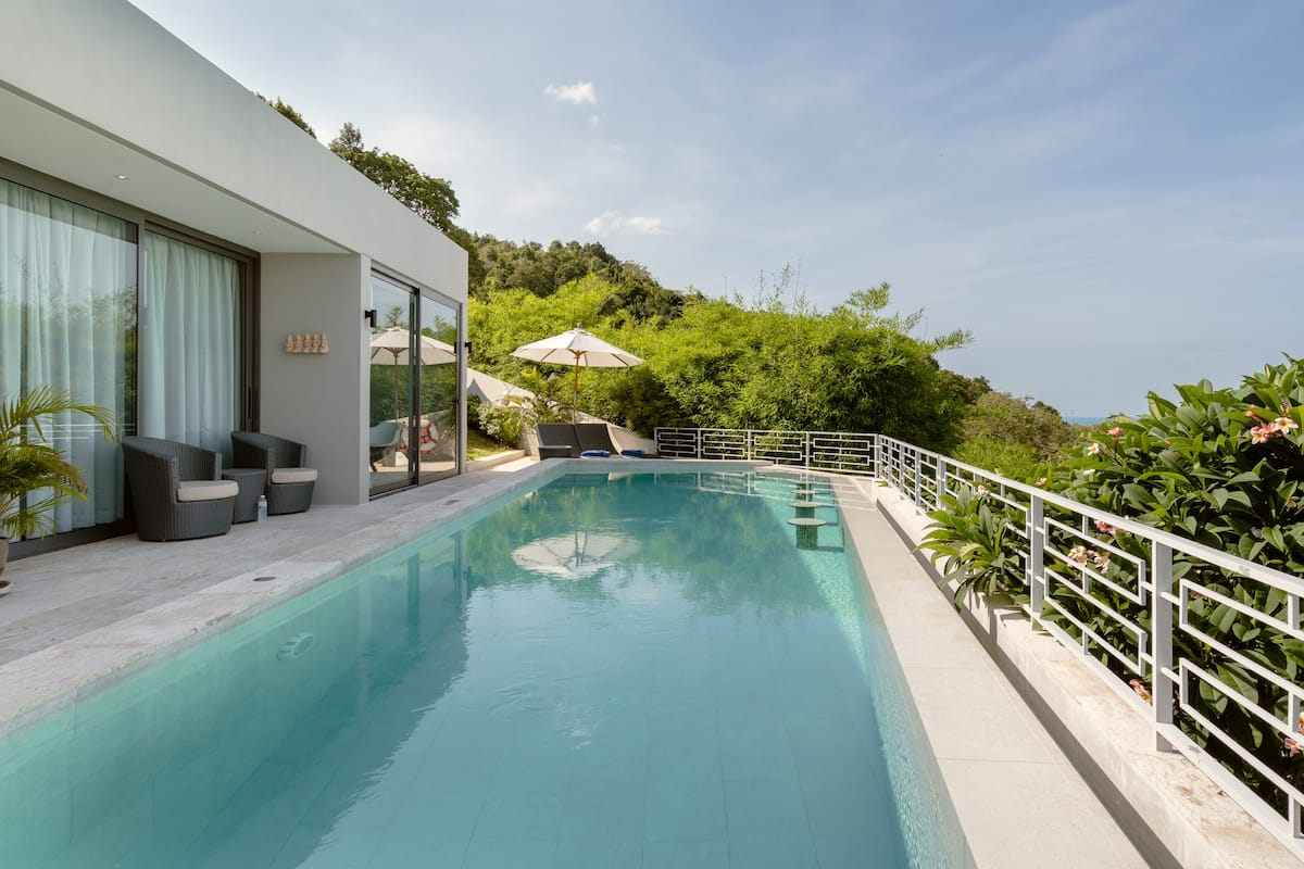 Luxurious Villa Sasha on Exclusive Estate Near Chaweng