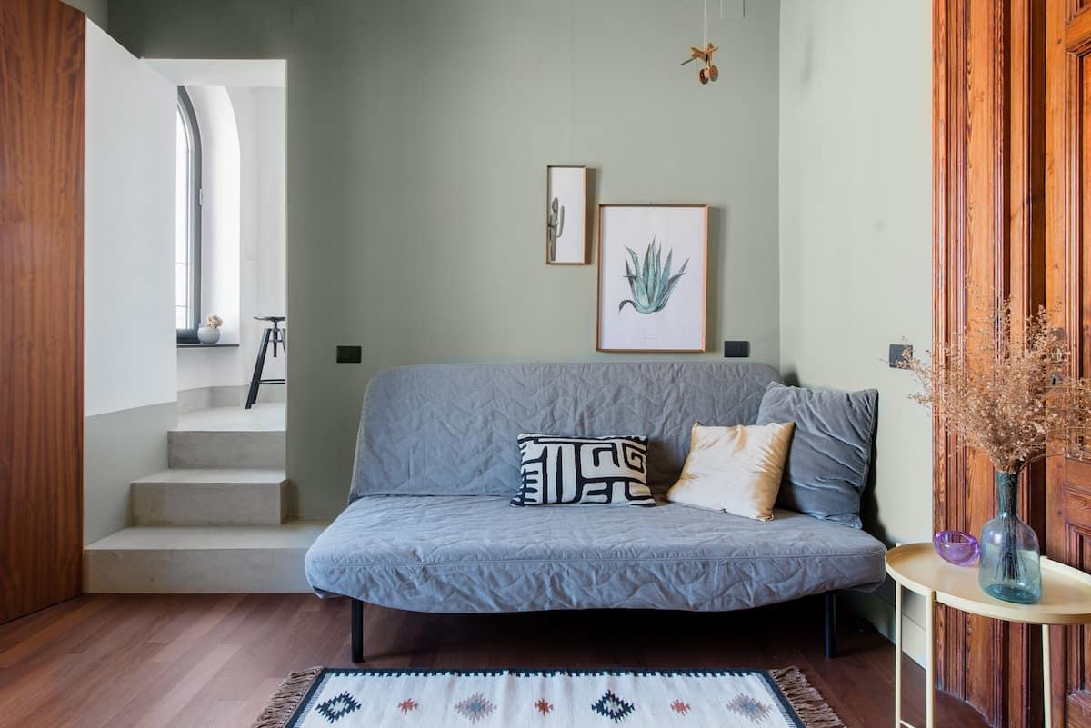 Appartamento in centro dalle anime diverse ma dal carattere unico