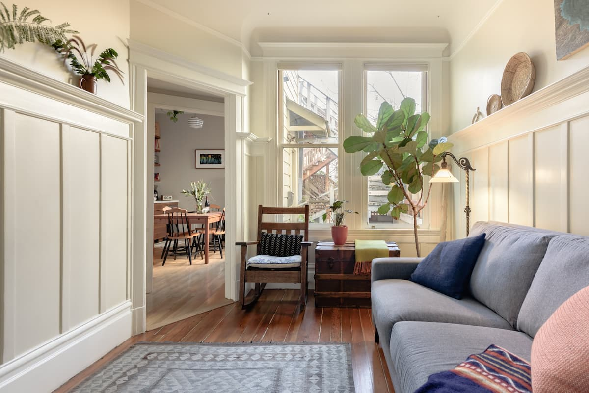 Explore the Mission District from a Beautiful Home