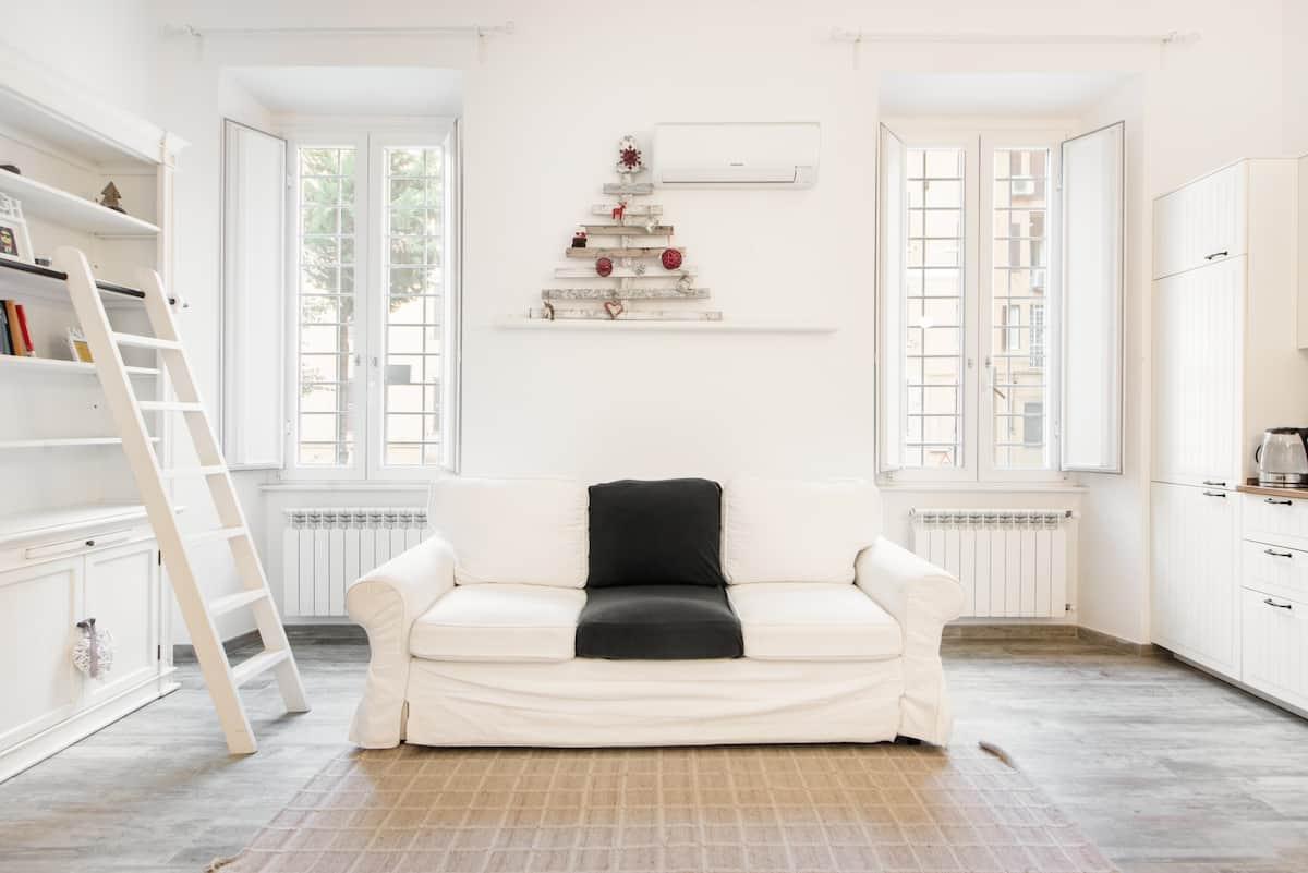 Accogliente appartamento in stile shabby-chic