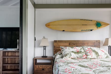 Drive to Hanalei Bay from an Architectural Gem