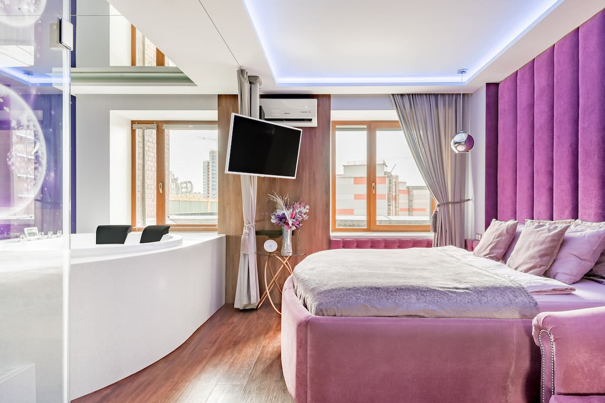 Роскошные апартаменты Домотелли с сауной и джакузи
