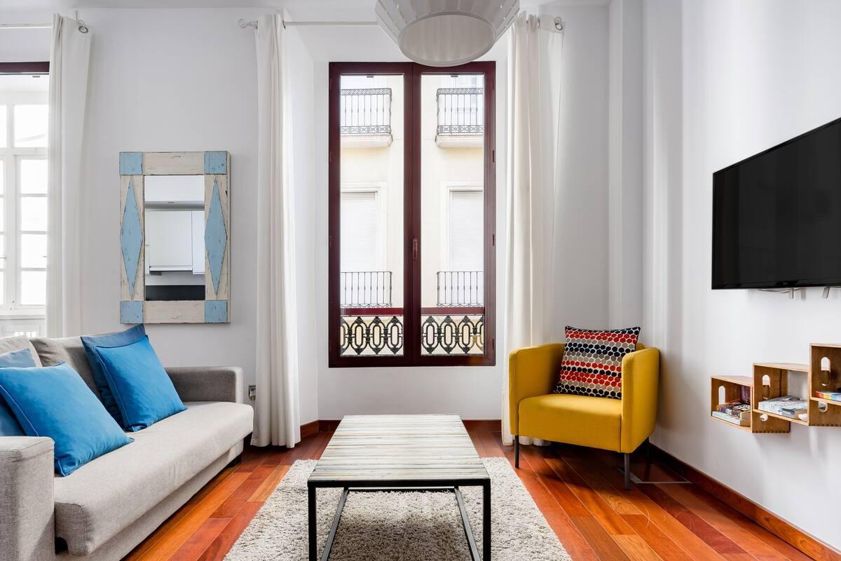 Apartamento moderno y funcional y tranquilo en el centro