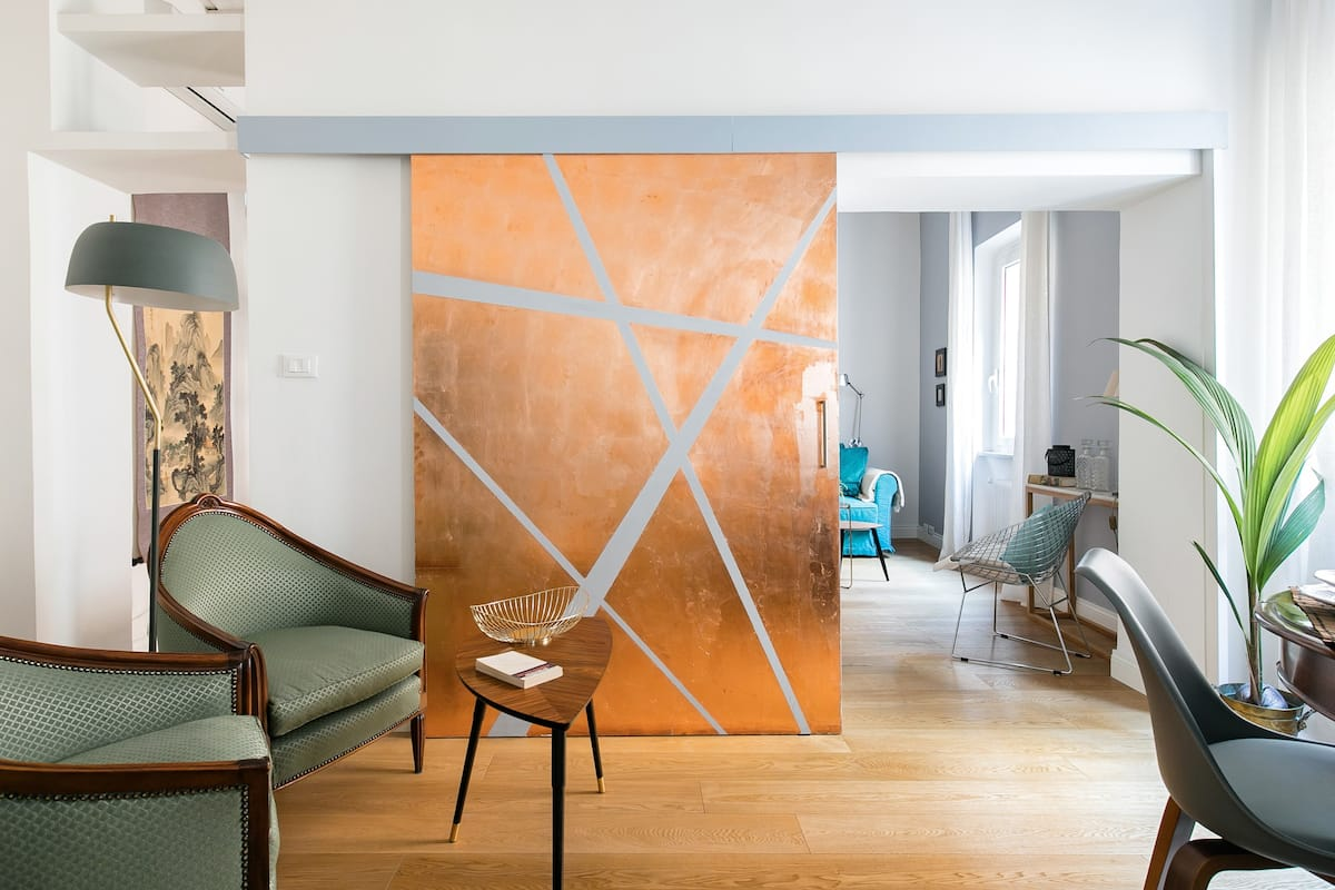 Design-Conscious Apartment in the Heart of Trastevere