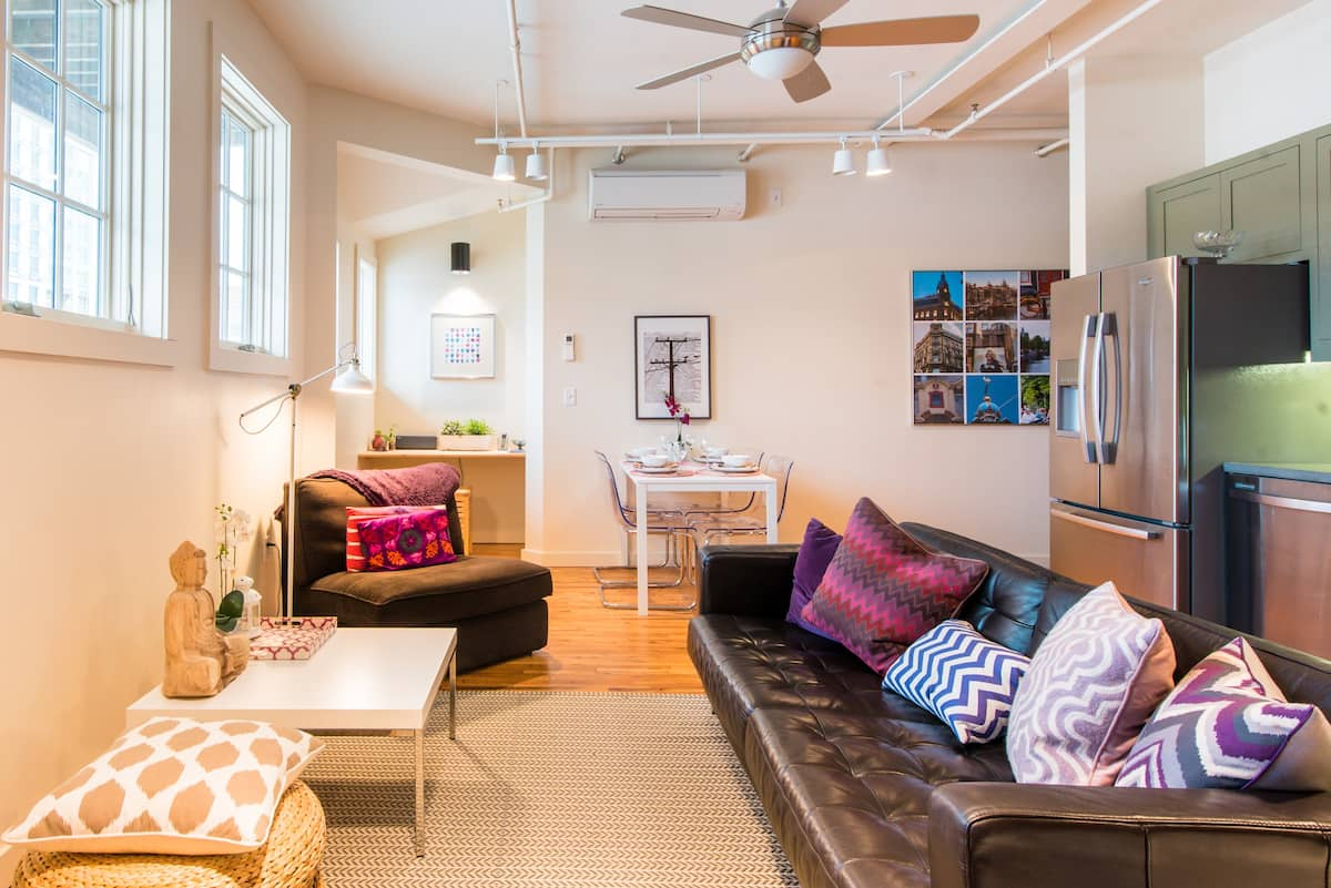 Luxury Modern Loft in Historic Central Downtown Building