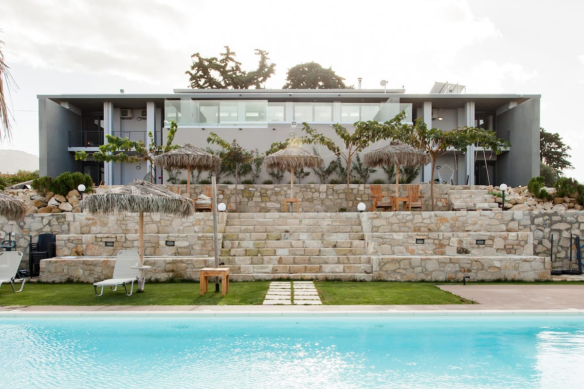 OliveNest Chania | Executive | Private Heated Pool